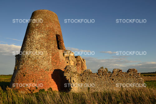 St Benet's Abbey at twilight