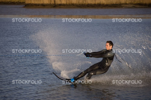 Wakeboarding, River Yare, Norfolk Broads