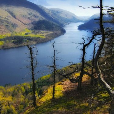 Thirlmere reservoir in the Lake District