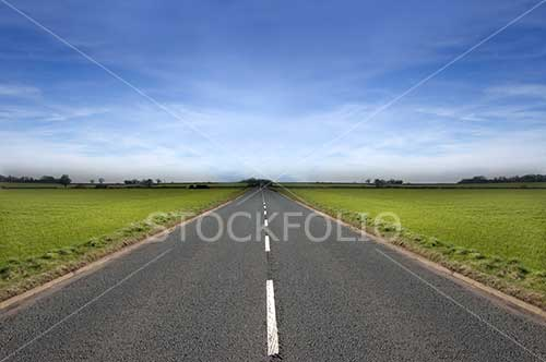 long open road