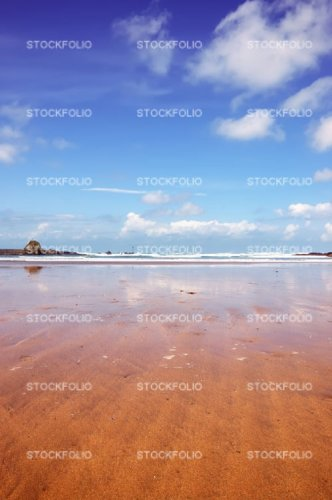 Summerleaze Beach at Bude in Cornwall