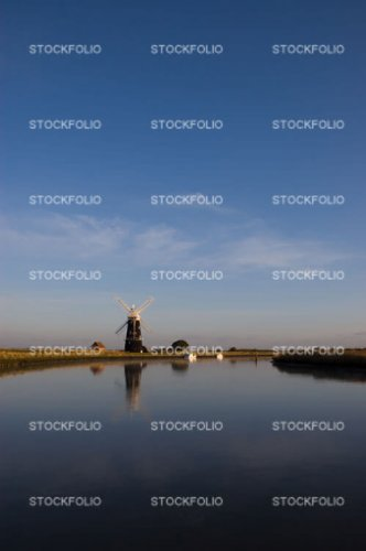 Berney Arms Mill, River Yare, Norfolk Broads