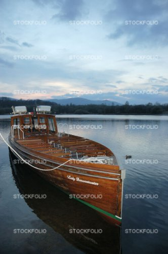 The launch Lady Derwentwater