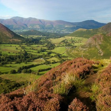 Newlands Valley and Skiddaw, Lake District