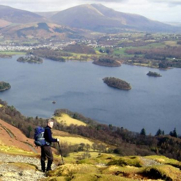 Derwentwater and Blencathra in the Lake District