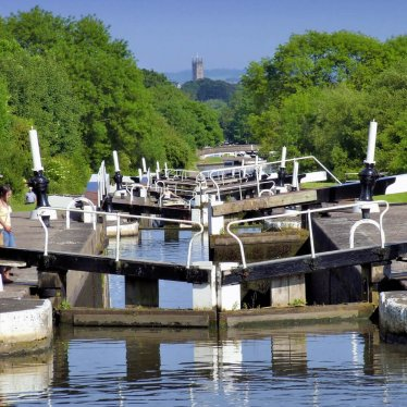 Hatton Locks near Warwick