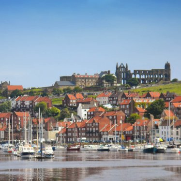 Whitby Abbey and Inner Harbour